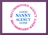 Recommended by the Good Nanny Agency Guide.
